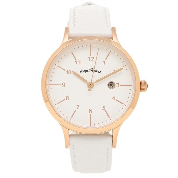 ANGEL HEART 腕時計 レディース エンジェルハート PH32P-WH ピンクゴールド ホワイト