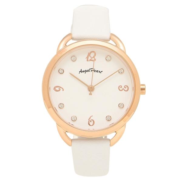 ANGEL HEART 腕時計 レディース エンジェルハート VI31P-WH ピンクゴールド ホワイト