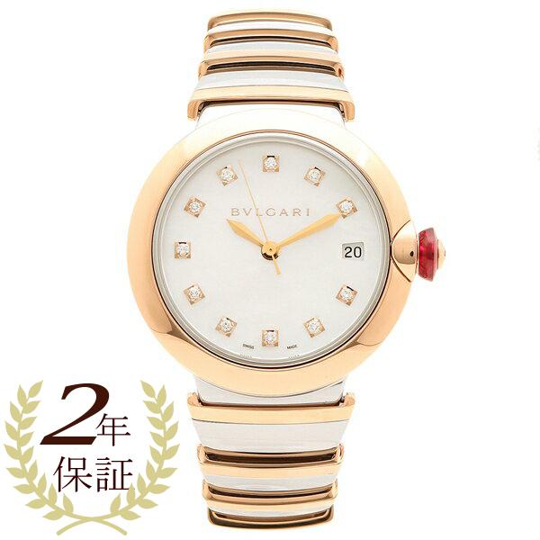 BVLGARI 腕時計 レディース 自動巻き ブルガリ LU36WSPGSPGD/11 ピンクゴールド シルバー