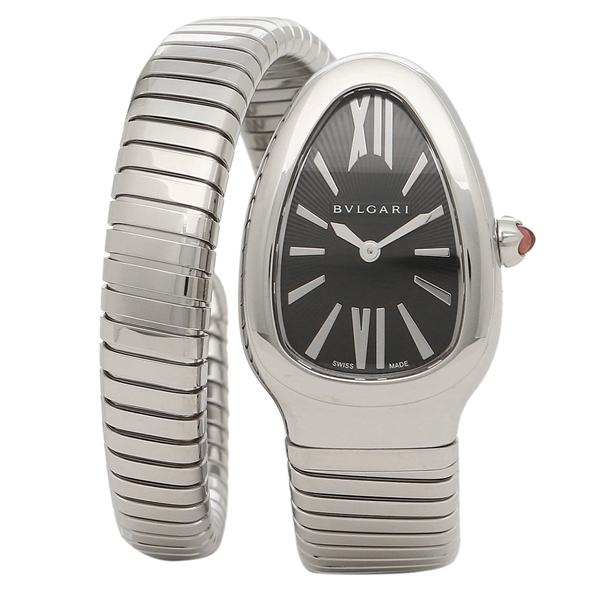 BVLGARI 腕時計 レディース ブルガリ SP35BSS.1T ブラック シルバー