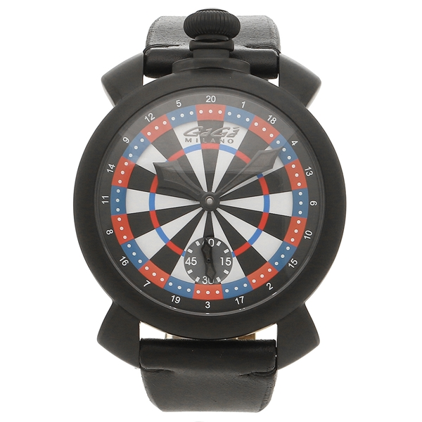 GAGA MILANO 腕時計 メンズ ガガミラノ 5012LV03 マルチカラー ブラック