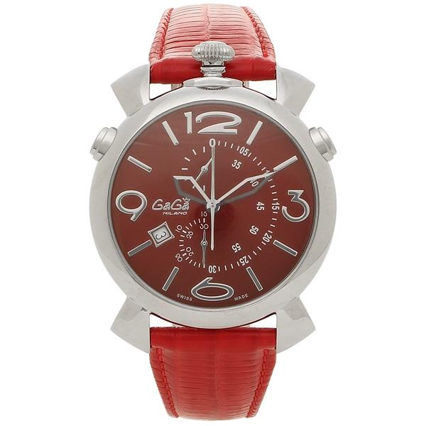 GAGA MILANO 腕時計 メンズ ガガミラノ 5097.04RD-N レッド シルバー