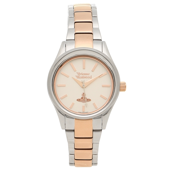 VIVIENNE WESTWOOD 腕時計レディース ヴィヴィアンウエストウッド VV111SLRS シルバー ローズゴールド