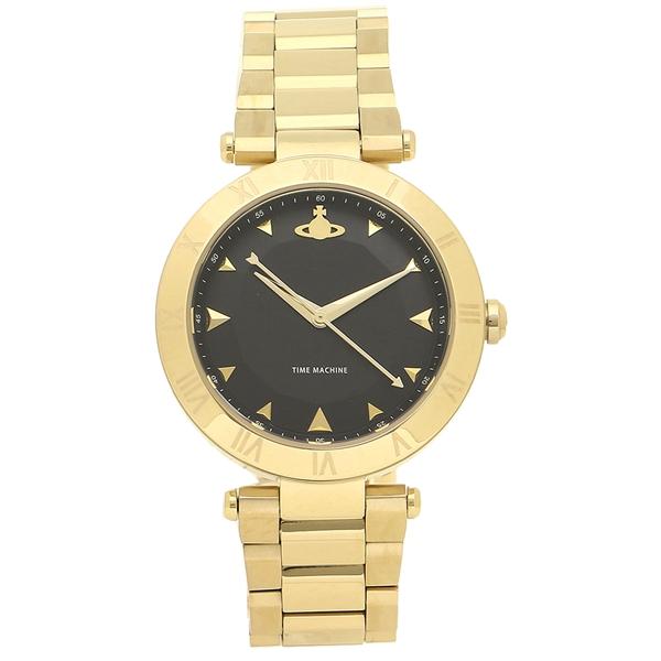 VIVIENNE WESTWOOD 腕時計レディース ヴィヴィアンウエストウッド VV206BKGD イエローゴールド