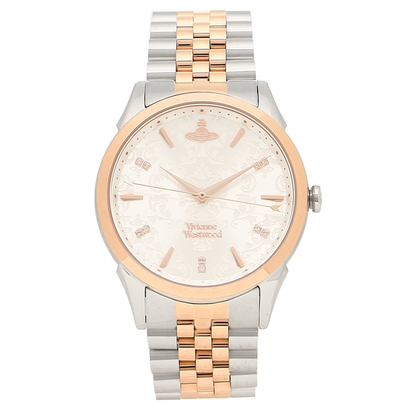 VIVIENNE WESTWOOD 腕時計レディース ヴィヴィアンウエストウッド VV208RSSL ローズゴールド シルバー