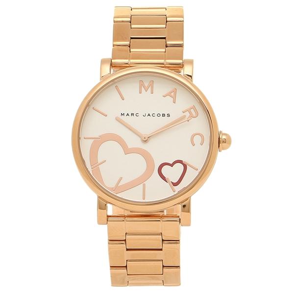 MARC JACOBS 腕時計 レディース マークジェイコブス MJ3589 ローズゴールド ホワイト