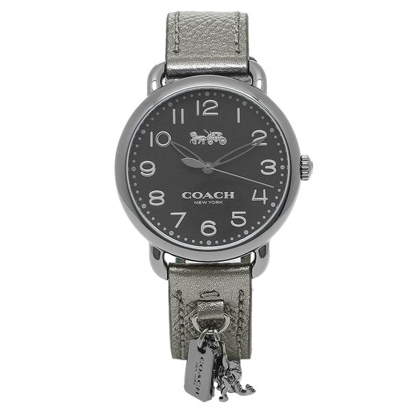 COACH 腕時計 レディース コーチ 14502818 ブラック ガンメタル