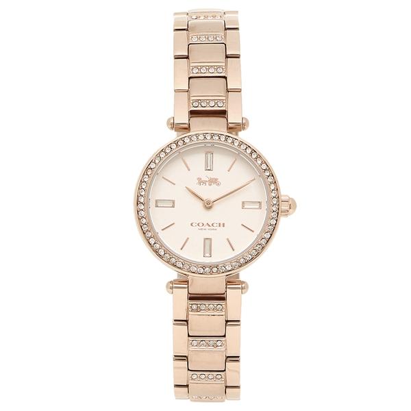 COACH 腕時計 レディース コーチ 14503099 ピンクゴールド ホワイト