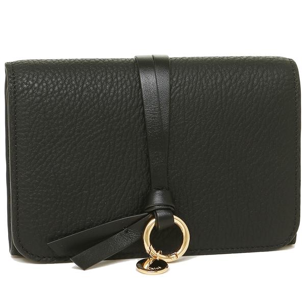 CHLOE 折財布 レディース クロエ CHC16AP709 H9Q 001 ブラック