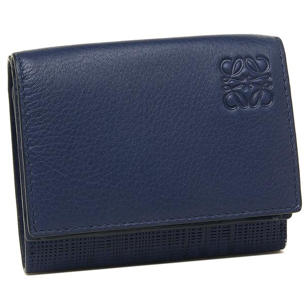 LOEWE 折財布 レディース ロエベ 101 88 S26 5110 ネイビー