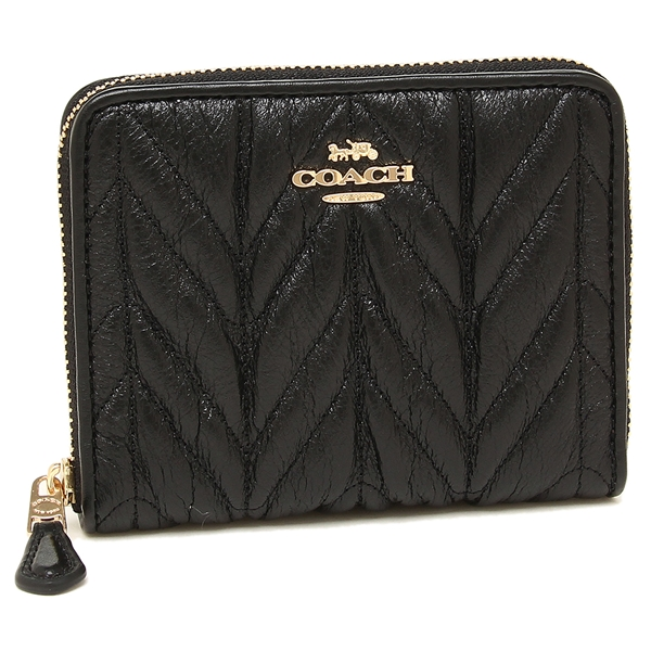 COACH 折財布 アウトレット レディース コーチ F31600 IMBLK ブラック