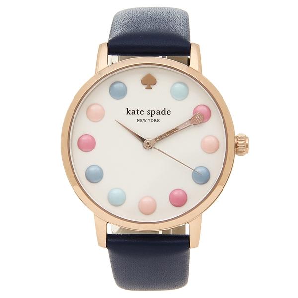 KATE SPADE 腕時計 レディース ケイトスペード KSW1454 ネイビー ローズゴールド ホワイト