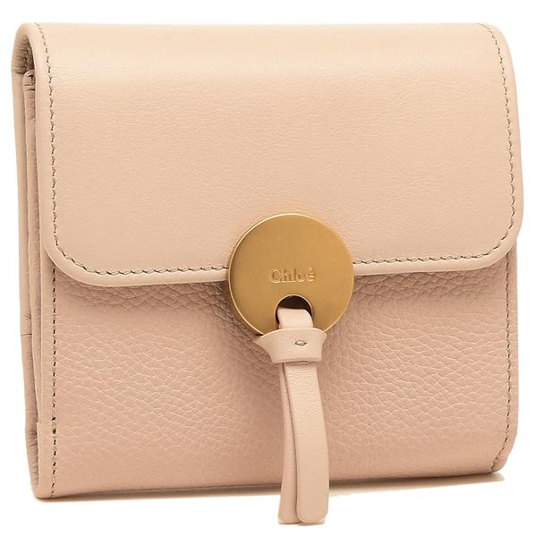 CHLOE 折財布 レディース クロエ CHC16UP811 H8J 6J5 ピンク