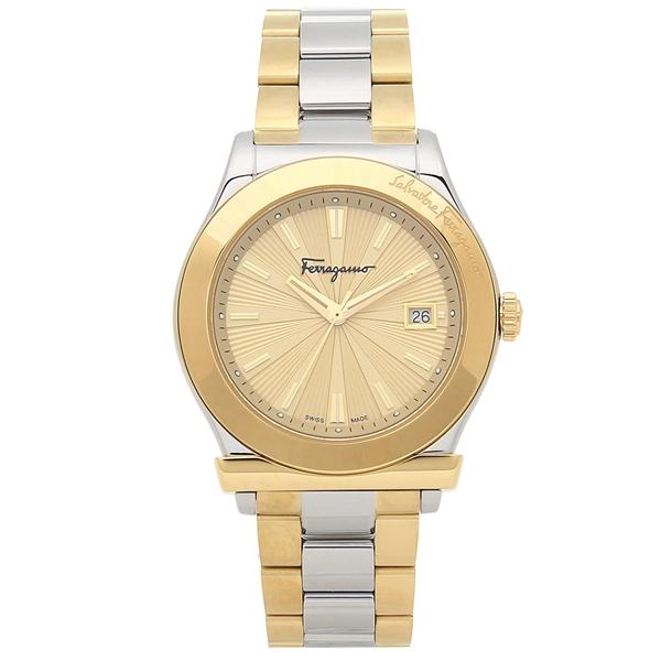 Salvatore Ferragamo 腕時計 メンズ フェラガモ FF3340017 シルバー イエローゴールド