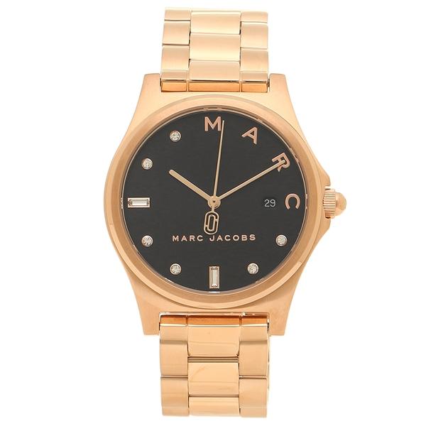 MARC JACOBS 腕時計 レディース マークジェイコブス MJ3600 ローズゴールド ブラック