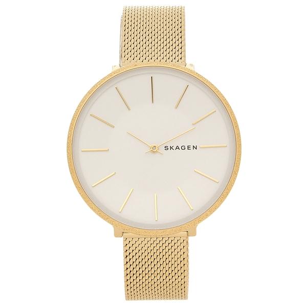 SKAGEN 腕時計 レディース スカーゲン SKW2722 イエローゴールド シルバー