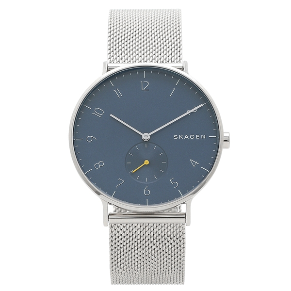 SKAGEN 腕時計 メンズ スカーゲン SKW6468 ネイビーブルー シルバー