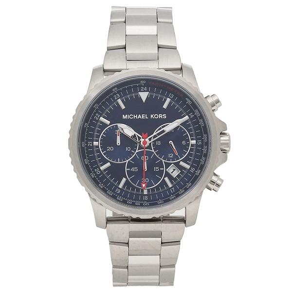 MICHAEL KORS 腕時計 メンズ マイケルコース MK8641 シルバー ブルー