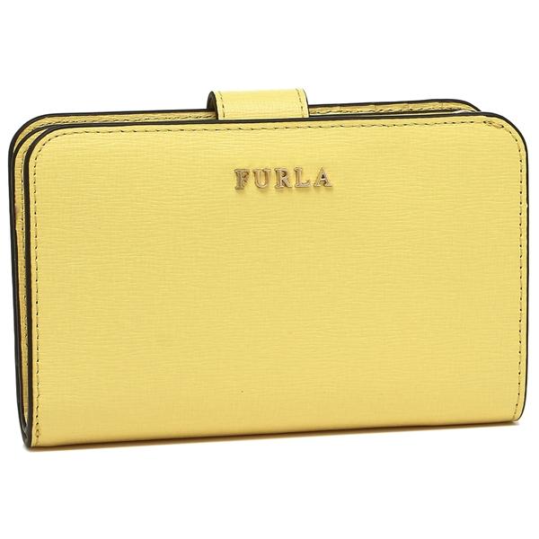 FURLA 折財布 レディース フルラ 992611 PR85 B30 ET8 イエロー