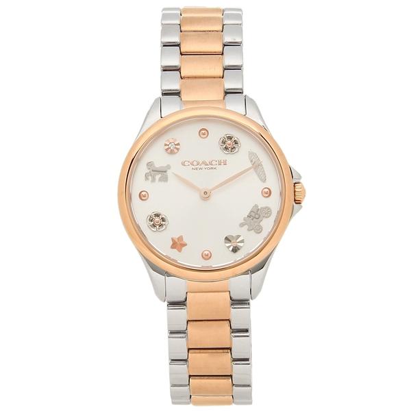 COACH 腕時計 レディース コーチ 14503065 シルバー ピンクゴールド