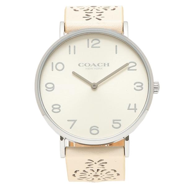COACH 腕時計 レディース コーチ 14503029 ホワイト シルバー