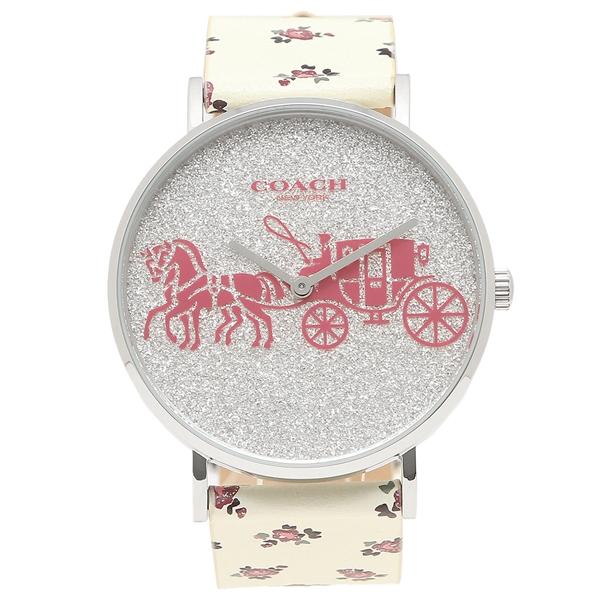 COACH 腕時計 レディース コーチ 14503047 ホワイト マルチカラー