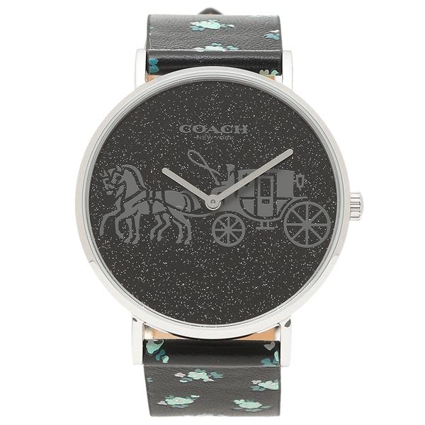 COACH 腕時計 レディース コーチ 14503048 ブラック マルチカラー