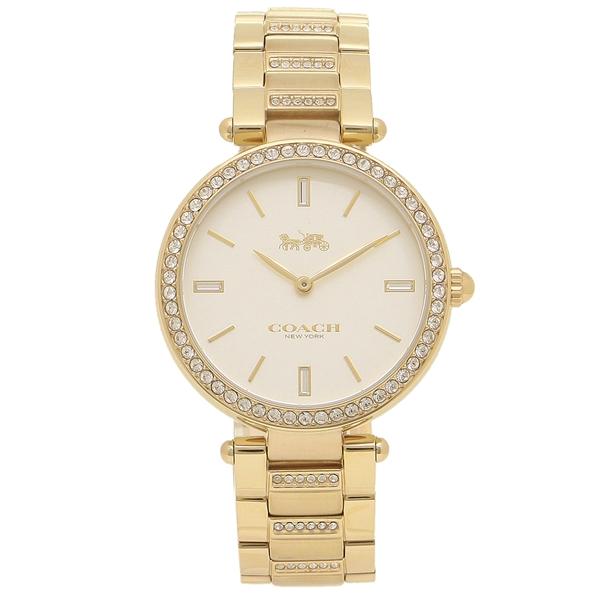 COACH 腕時計 レディース コーチ 14503093 イエローゴールド ホワイト