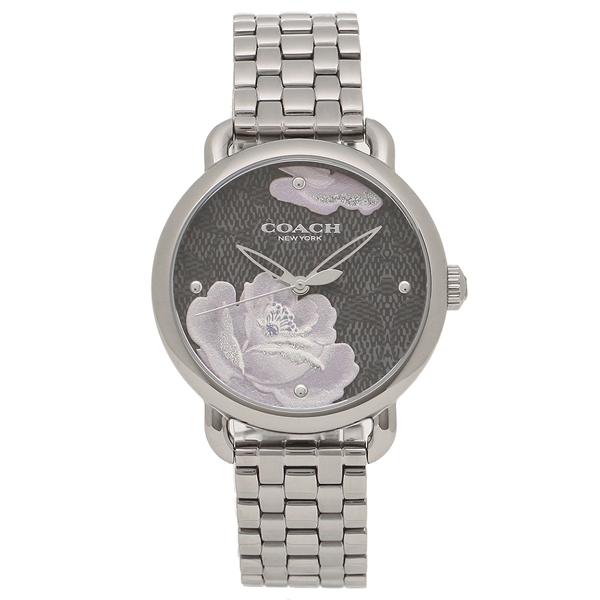 COACH 腕時計 レディース コーチ 14503165 ガンメタル ブラック
