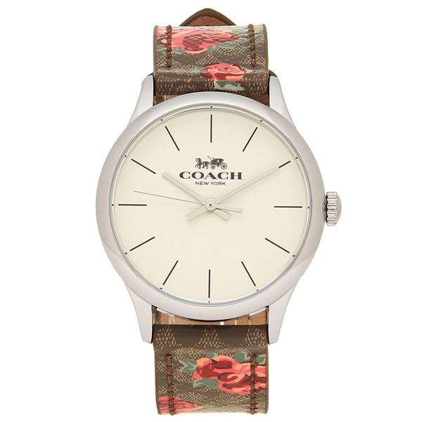 COACH 腕時計 アウトレット レディース コーチ W1546 SKHPK カーキ ピンク マルチ