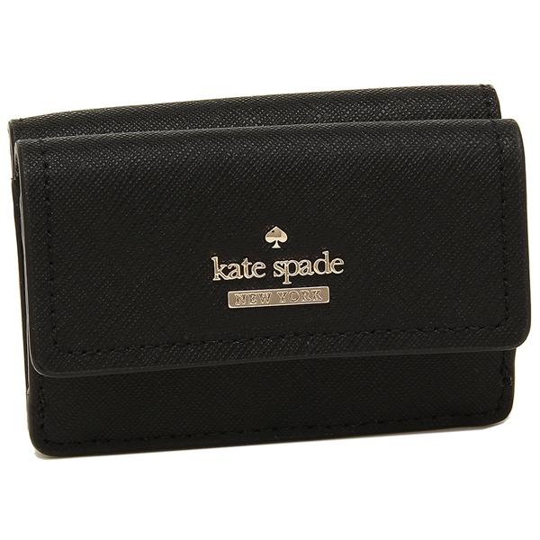 KATE SPADE 折財布 レディース ケイトスペード PWRU6439 001 ブラック