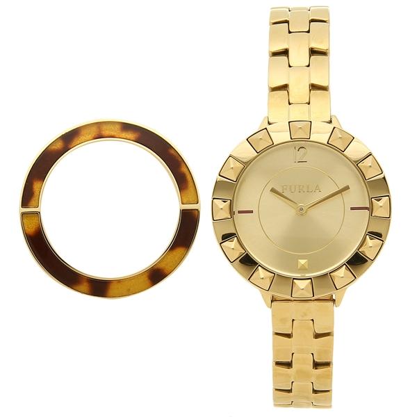 FURLA 腕時計 レディース フルラ R4253109501 イエローゴールド