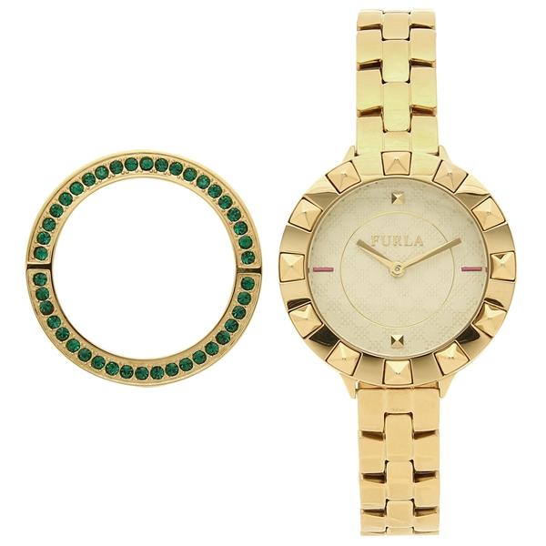 FURLA 腕時計 レディース フルラ R4253109504 イエローゴールド