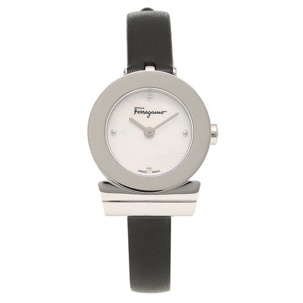 Salvatore Ferragamo 腕時計 レディース フェラガモ F43050017 シルバー レッド パール