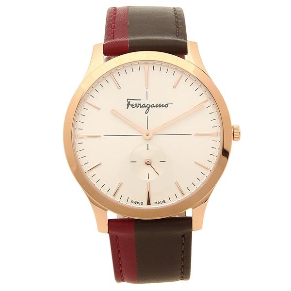 Salvatore Ferragamo 腕時計 レディース フェラガモ SFDE00618 ブラウン ピンクゴールド ホワイト