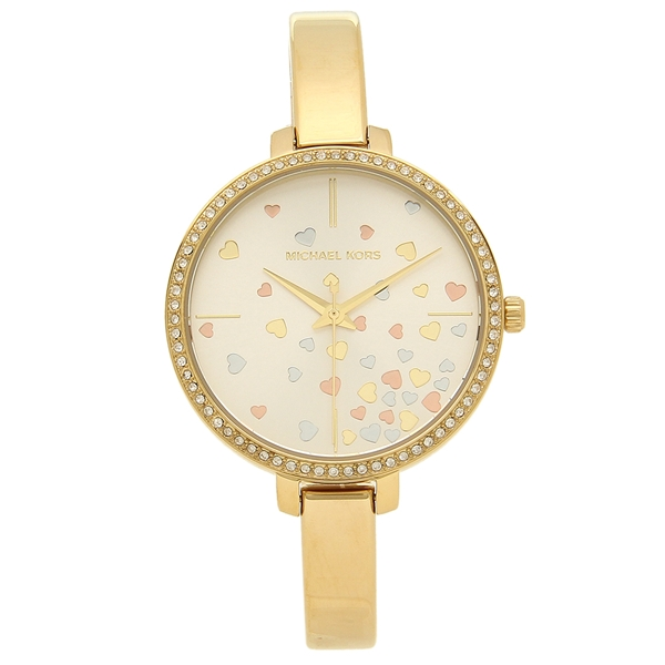 MICHAEL KORS 腕時計 レディース マイケルコース MK3977 イエローゴールド ホワイト