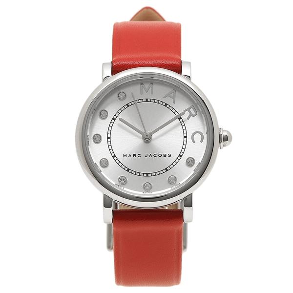MARC JACOBS 腕時計 レディース マークジェイコブス MJ1632 レッド シルバー
