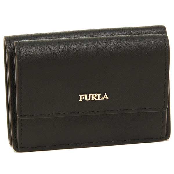FURLA 折財布 レディース フルラ 993905 PZ12 E35 O60 ブラック