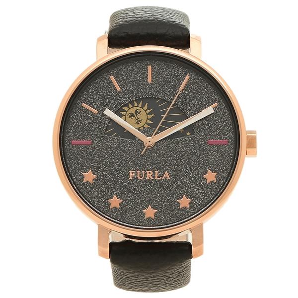 FURLA 腕時計 レディース フルラ 995904 R4251118501 W515 I43 O60 ブラック ローズゴールド