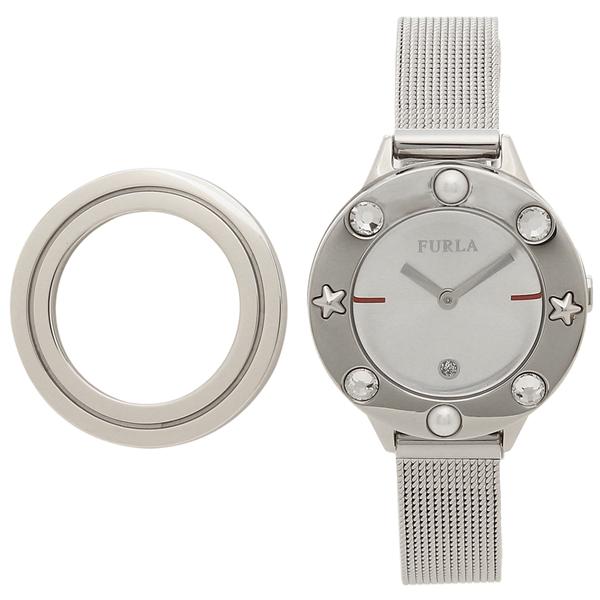FURLA 腕時計 レディース 替えベゼル付き フルラ 996049 W490 I49 Y30 シルバー