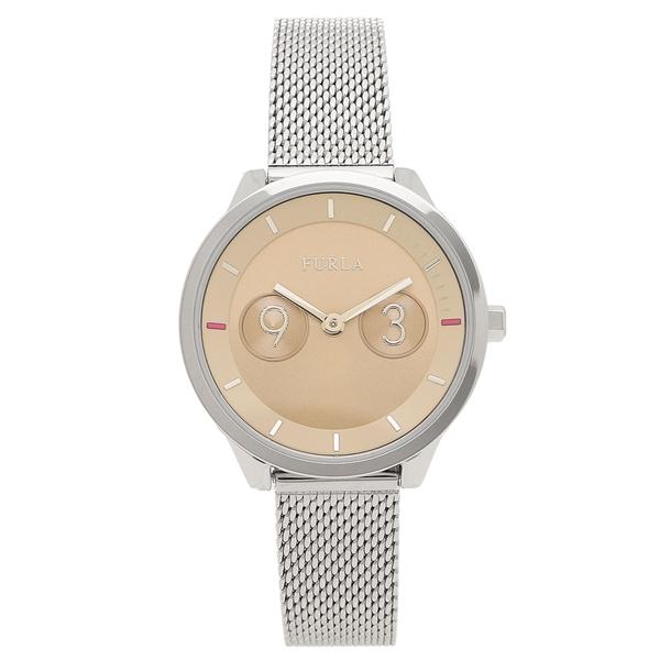 FURLA 腕時計 レディース フルラ 996303 W486 I49 LC4 シルバー キャメル