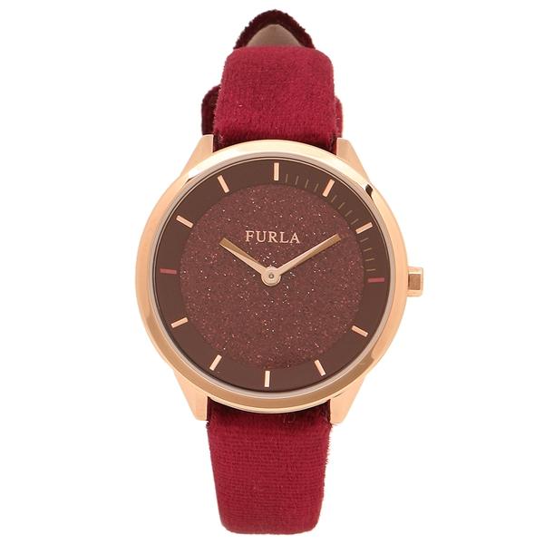 FURLA 腕時計 レディース フルラ 997503 W519 P78 CGQ レッド ローズゴールド