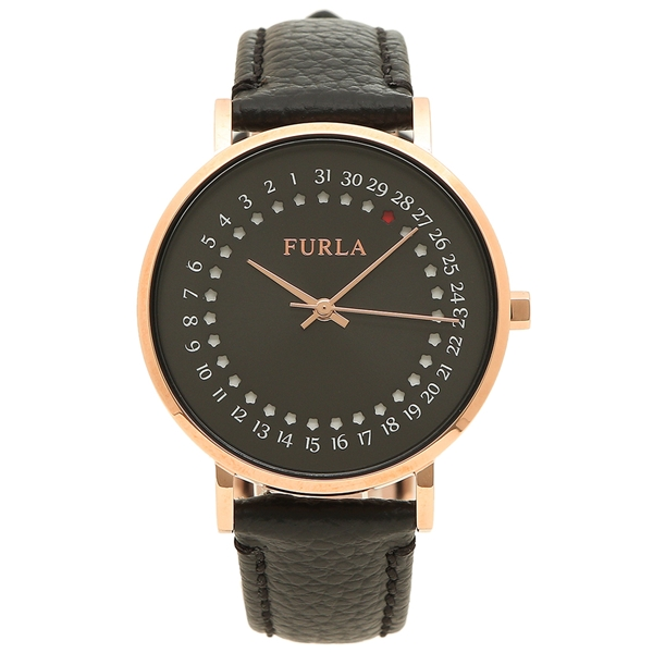 FURLA 腕時計 レディース フルラ 997519 R4251121505 W523 I43 O60 ブラック ローズゴールド