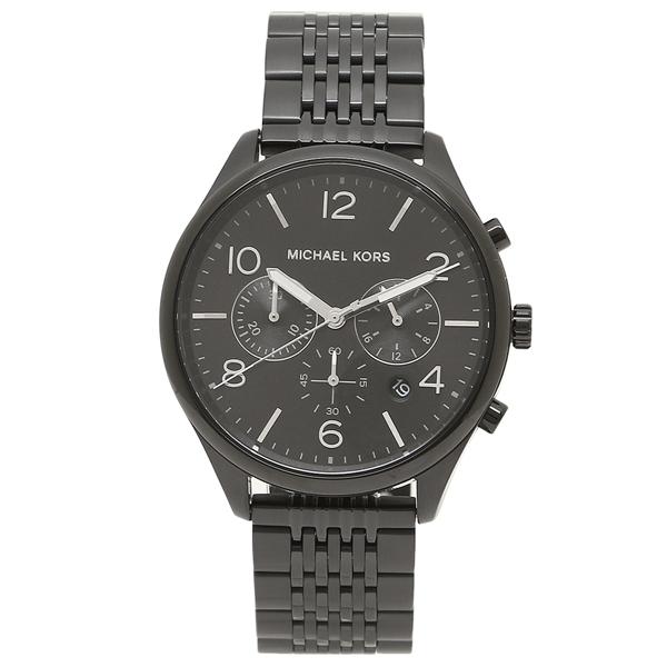 MICHAEL KORS 腕時計 メンズ マイケルコース MK8640 ブラック