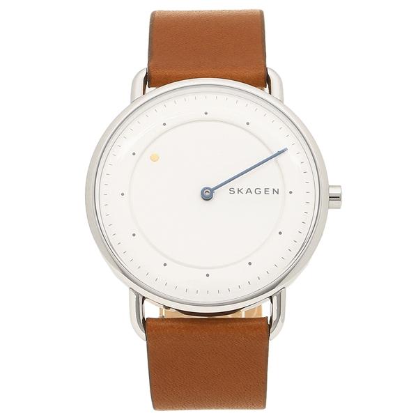 SKAGEN 腕時計 メンズ スカーゲン SKW6487 シルバー ブラウン
