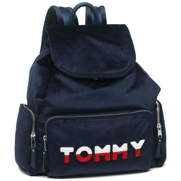 TOMMY HILFIGER リュック アウトレット レディース トミーヒルフィガー W86947029 423 ネイビー