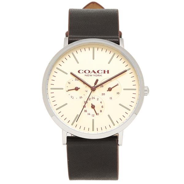 COACH 腕時計 メンズ コーチ 14602387 ブラック ホワイト