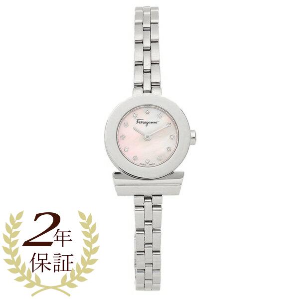 Salvatore Ferragamo 腕時計 レディース フェラガモ SFBF00118 シルバー ピンク