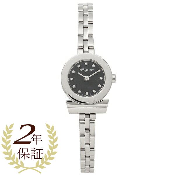 Salvatore Ferragamo 腕時計 レディース フェラガモ SFBF00218 シルバー ブラック