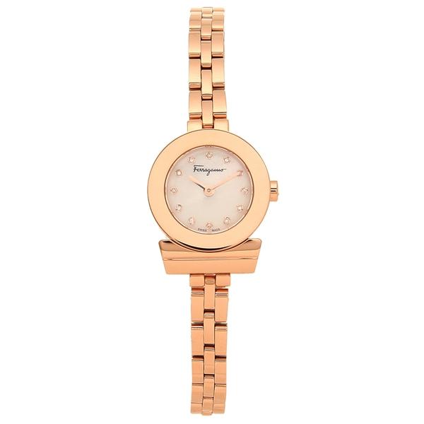 Salvatore Ferragamo 腕時計 レディース フェラガモ SFBF00318 ローズゴールド